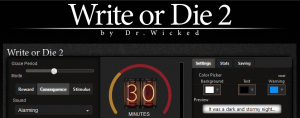 Write or Die 2 Review: Writing Motivation with a Twist