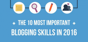 10 Crucial Blogging Skills You Can't Ignore [Infographic]